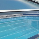 Abri de piscine transparent