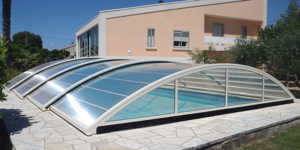 Abri bas de piscine Magic